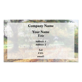 Psalm 16:11 Thou wilt shew me the path Pack Of Standard Business Cards
