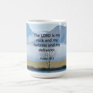 Psalm 18:2 Bible Verse Coffee Mug