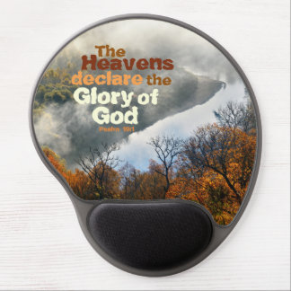 Psalm 19:1 Bible Verse Glory of God Gel Mousepad