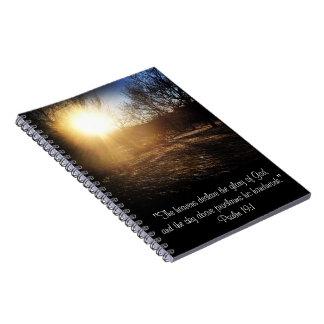 Psalm 19:1 Notebook
