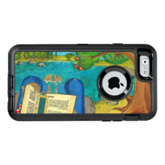 Psalm 1 in Hebrew Bible Jewish Christian Paintings OtterBox iPhone 6/6s Case