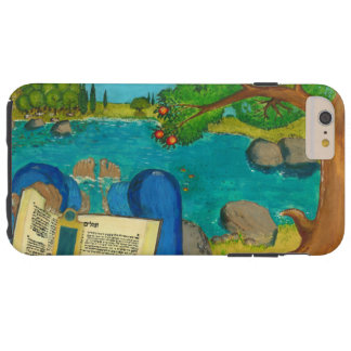 Psalm 1 in Hebrew Bible Jewish Christian Paintings Tough iPhone 6 Plus Case