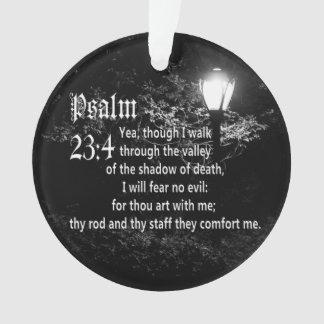 Psalm 23:4  Bible Verse Custom Christian Gift