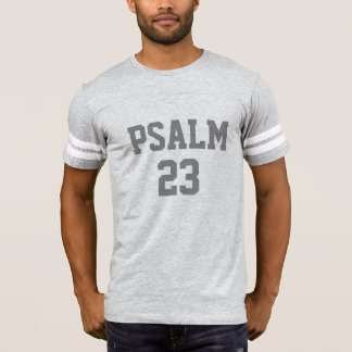 PSALM 23 Christian Sports Jersey Number Bible Tee