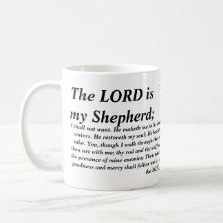 Psalm 23 - KJV- Mug