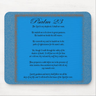 Psalm 23 mouse pad