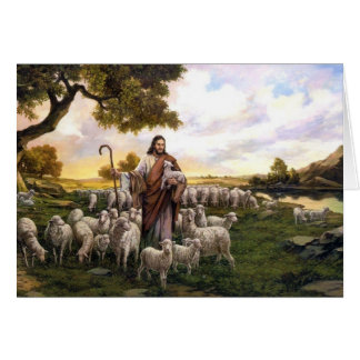 Psalm 23 The Lord is My Shepard Card