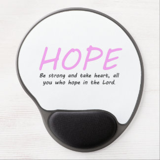 Psalm 31:24 gel mouse pad
