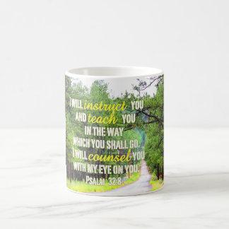 Psalm 32:8 Mug