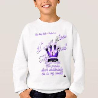 Psalm 34 sweatshirt