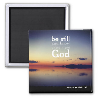"""Psalm 46:10 """"Be Still"""" Great Salt Lake, Utah Magnet"""