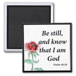Psalm 46:10 magnet