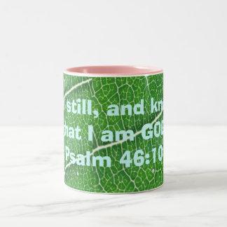 psalm 46:10 mug