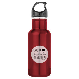 Psalm 46:5 Aluminum 532 Ml Water Bottle