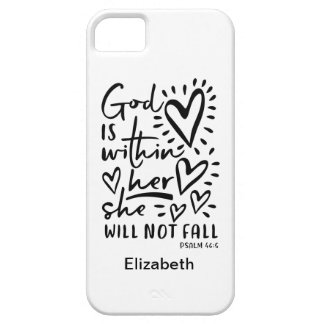Psalm 46 Bible Verse Barely There iPhone 5 Case