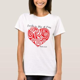Psalm 51:10  Women's  T-Shirt