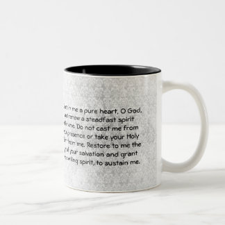 Psalm 51 Prayer Mug