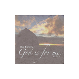Psalm 56:9 Photo Magnet