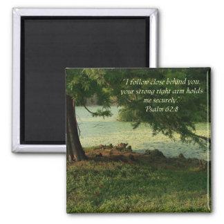 Psalm 62 8 Encouragment Nature Magnet