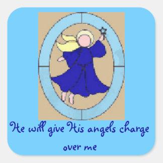 Psalm 91 Angels Sticker