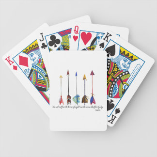 Psalm 91 Arrow Bicycle Playing Cards
