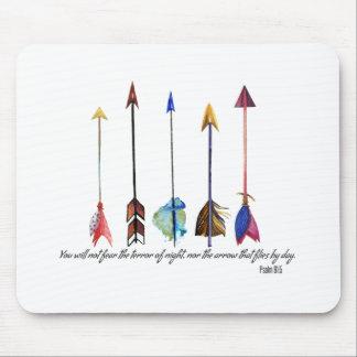Psalm 91 Arrow Mouse Pad