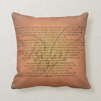 Psalm 91 Bible Verse Cushion