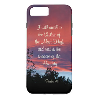 Psalm 91 Those who dwell in the secret place, iPhone 7 Plus Case