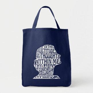 Psalm 94:19: God's Comfort Grocery Bag Dark
