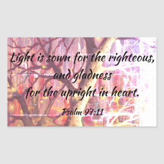 Psalm Bible Quote Christian Scripture Stickers