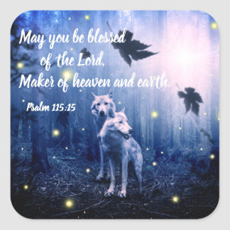 Psalm Bible Verse Christian Scripture Stickers