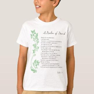 Psalm of David The Lord is my Shepherd Bible Verse T-Shirt