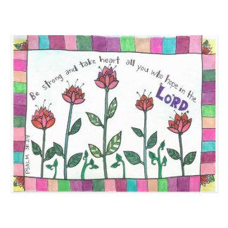 psalm postcard