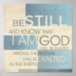Psalm Scripture Collage II Print
