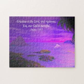 Psalms 116:5 jigsaw puzzle