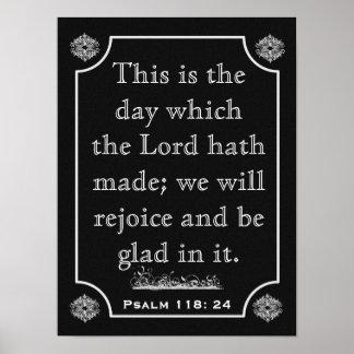 Psalms 118: 24 --- Art Print