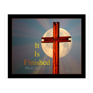 psalms 22:13 postcard