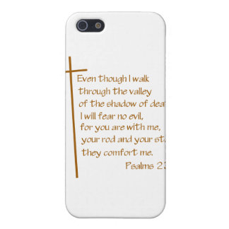Psalms 23:4 case for the iPhone 5