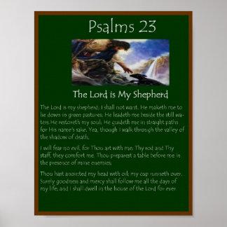 psalms 23 poster