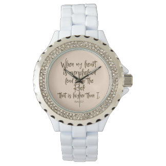 Psalms Bible Verse Wristwatches