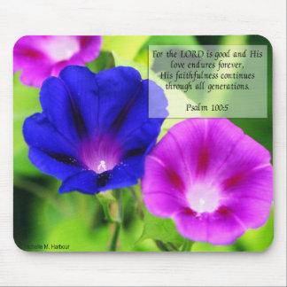 Psalms - Morning Glories Mousepad