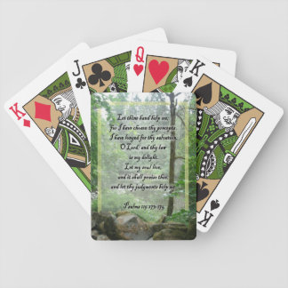 Psalms Scripture playing cards