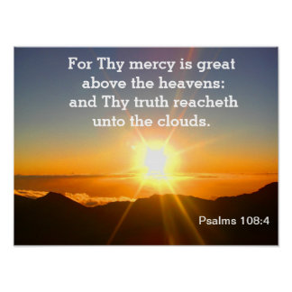 Psalms -scripture poster
