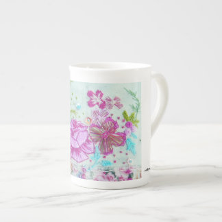 Pseudo embroidered mug