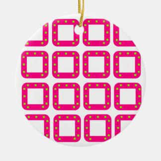PSG Dots Round Ceramic Decoration