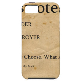 Psicotest Builder destroyer nice Question iPhone 5 Cases