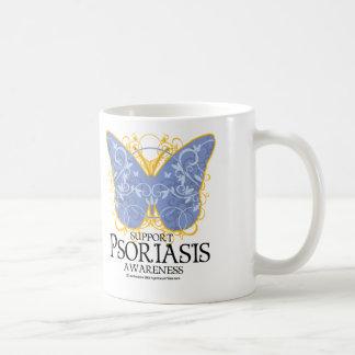 Psoriasis Butterfly Coffee Mugs