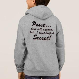 Pssst...I can't keep a SECRET (blk) Hoodie