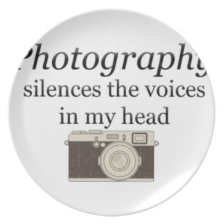 pstvimhPhotography silences the voices in my head Plate