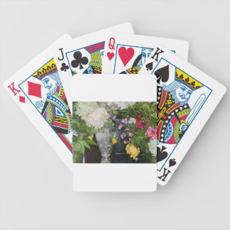 PSX_20161220_203716 Flowers Bicycle Playing Cards